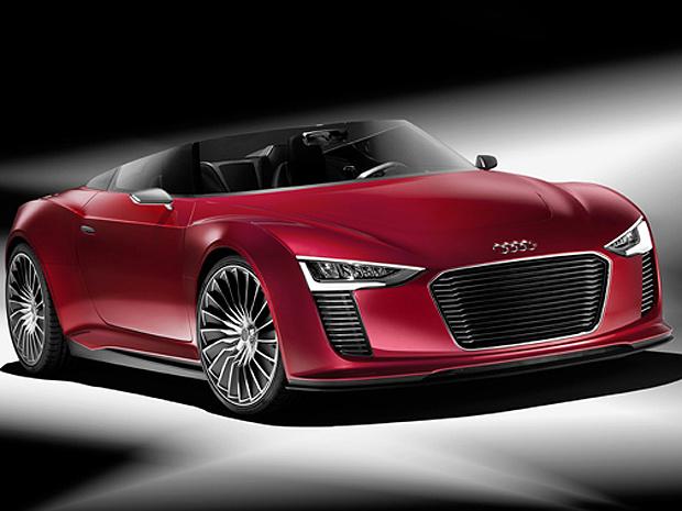 Audi e-tron Spyder - Crédito: Foto: Divulgação