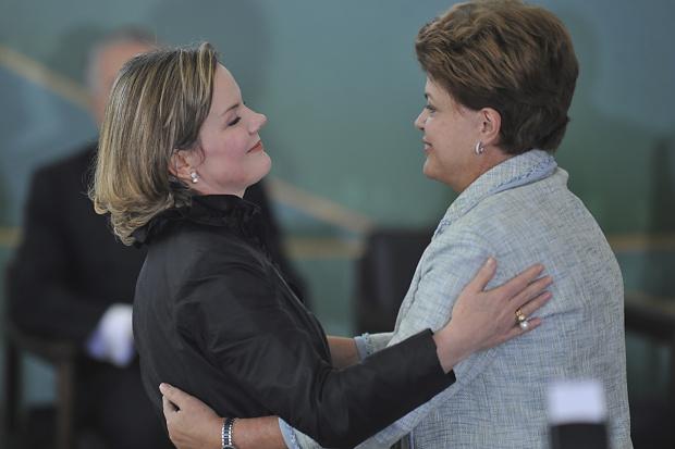 Gleisi Hoffmann foi empossada pela presidenta Dilma na semana passada - Crédito: Foto : fabio Rodrigues Pozzebom – Abr