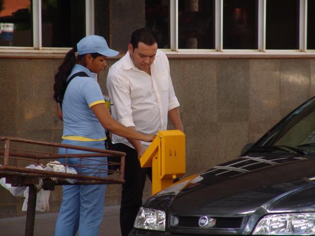Parquímetro poderá ser administrado pelo município até o 2º semestre deste ano - Crédito: Foto: Hédio Fazan/PROGRESSO