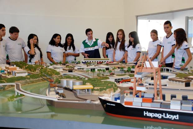 O Centro de Operações Logísticas do Senai funciona desde setembro e 2010 - Crédito: Foto : Divualgação