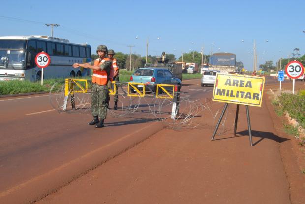 Decreto 7.496 fortalece a  ação das Forças Armadas e da polícia em regiões de fronteira - Crédito: Foto: Hédio /arq.