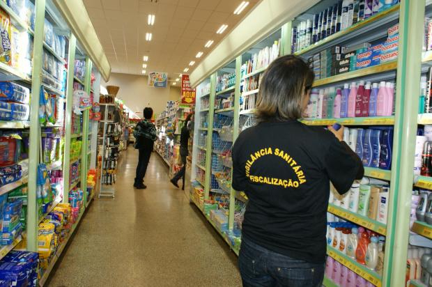 Fiscalização da Vigilância e Procon faz arrastão em diversos supermercados de Dourados - Crédito: Foto : Hédio Fazan/PROGRESSO