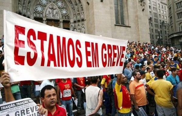 Dourados adere ao movimento nacional, cuja greve começou há alguns dias -