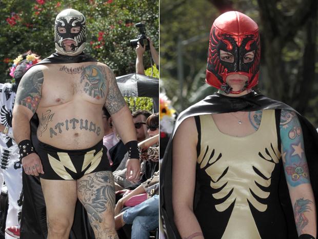 Desfile da Cavalera no Parque do Ibirapuera fez homenagem à cultura mexicana - Crédito: Foto: Vanessa Carvalho/ Agência Estado