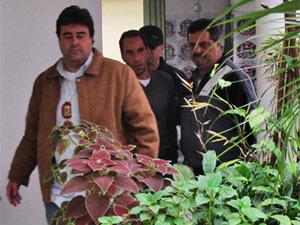 Edmundo foi levado na madrugada desta 5ª feira para delegacia em SP - Crédito: Foto: Paulo Toledo Piza/G1