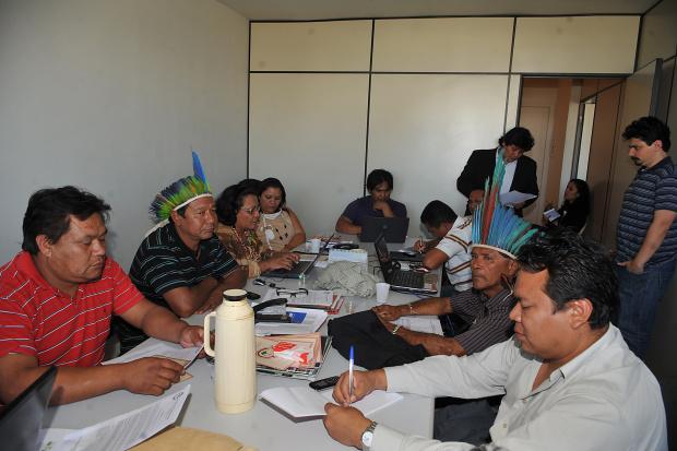 Lideranças indígenas decidem romper relações com governo - Crédito: Foto : Valter Campanato – Abr