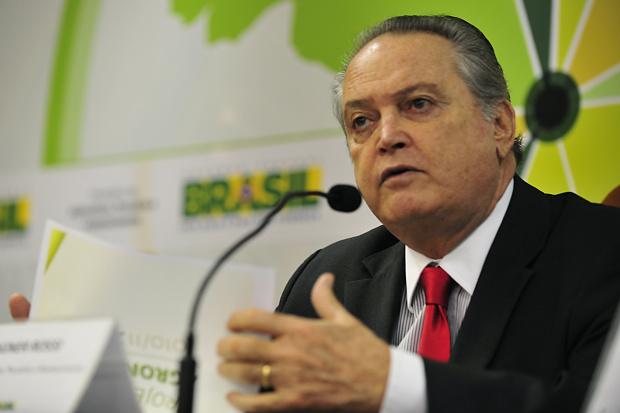 Ministro Wagner Rossi diz que a expectativa é que a safra de grãos cresça mais de 5% - Crédito: Foto : Marcello Casal Jr – Abr