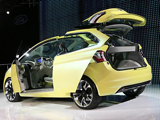 Ford Iosis Max Concept - Crédito: Foto: Divulgação
