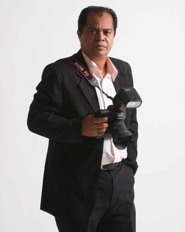 Aparecido Frota é um dos mais renomados profissionais da área de fotografia em Dourados - Crédito: Foto : StudioA