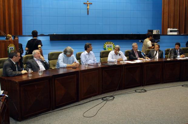 Solenidade de lançamento do PAC 2 da Funasa ontem na Assembleia Legislativa - Crédito: Foto : Rachid Waqued