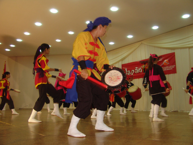 Eventos de arte e cultura reúnem a comunidade nipo-brasileira de Dourados - Crédito: Foto : Hedio Fazan/PROGRESSO