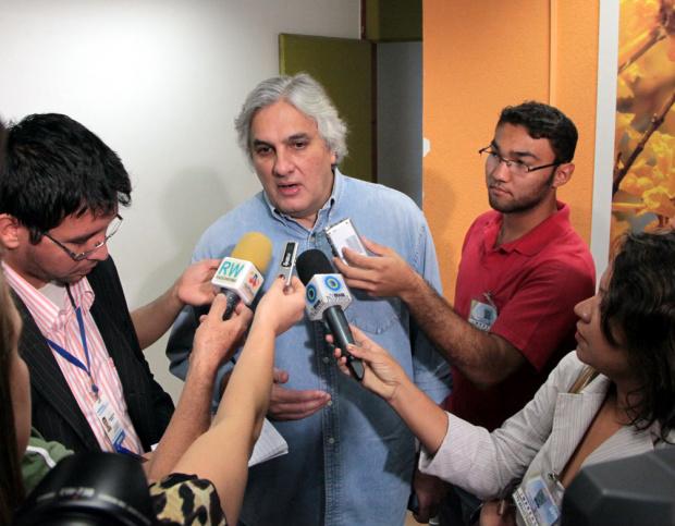 Delcídio quer mobilizar as forças políticas do Estado - Crédito: Foto: Divulgação