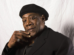 O saxofonista Clarence Clemons - Crédito: Foto: AP