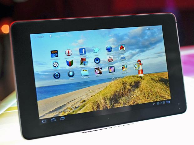 Tablet MediaPad, da Huawei, lançado nesta segunda-feira - Crédito: Foto: Reuters