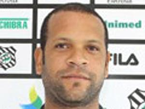O atacante Dudu, do Figueirense  - Crédito: Foto: Divulgação/Site do clube
