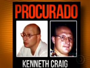 Kenneth Craig foi preso nesta terça - Crédito: Foto: Reprodução/TV Globo