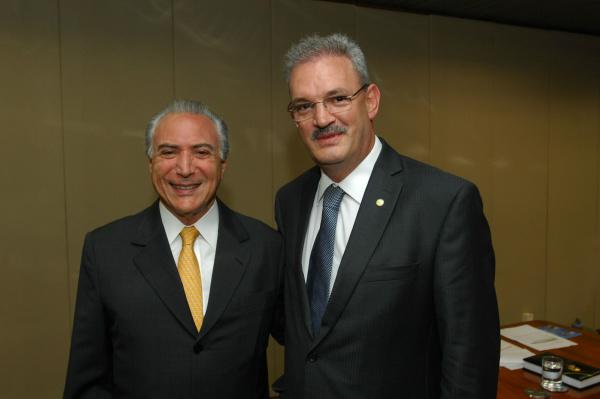 Temer é convidado de Geraldo para Encontro Regional do PMDB em Dourados - Crédito: Foto : Aloizio Assis