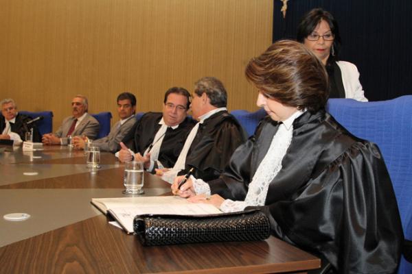 Marisa foi empossada no cargo de conselheira do Tribunal de Contas de MS - Crédito: Foto : Divulgação