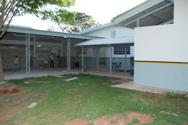 Escola Ruy Gomes atende 247 crianças da Vila São Pedro -