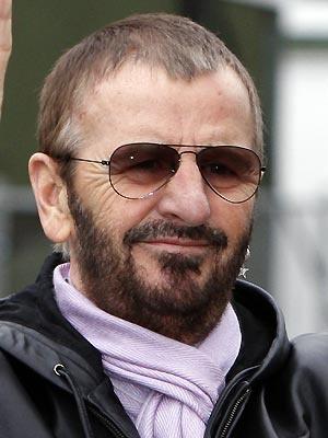 O ex-Beatle Ringo Starr - Crédito: Foto: Divulgação
