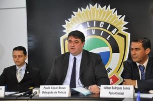 Polícia Civil apresenta caso de hacker que tentou invadir site do TJ-MS - Crédito: Foto: Hélder Rafael/G1 MS