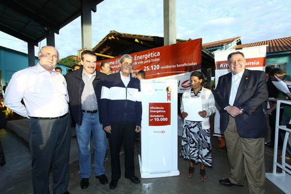 Em Ribas do Rio Pardo foram entregues 225 geladeiras para famílias carentes - Crédito: Foto : Edemir Rodrigues