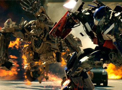 """Estreia de novo """"Transformers"""" vende US13 mi em ingressos -"""
