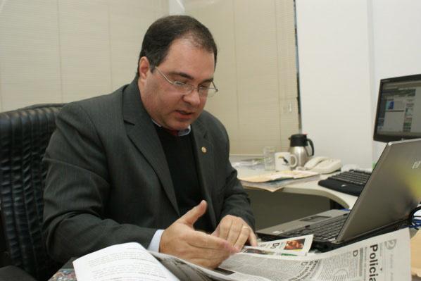 Promotor Izonildo enfatiza que vítimas não devem ter medo de denunciar agressores - Crédito: Foto: Hédio Fazan/PROGRESSO
