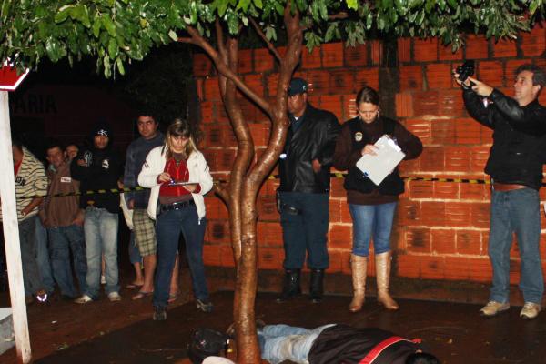 Duplo homicídio no Cachoeirinha. - Crédito: Foto : S.Bronka