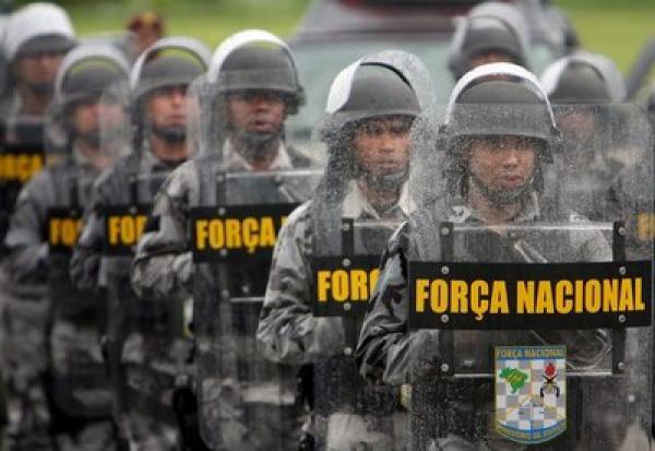 Força Nacional não sai de Ponta Porã, garante Segurança Pública - Crédito: Foto : Divulgação