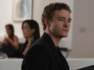 Justin Timberlake em 'A rede social': interpretando sócio de empresa rival - Crédito: Foto: Divulgação