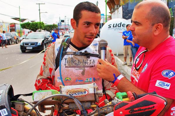Dário Júlio, piloto da Equipe Honda Mobil de Enduro de Regularidade - Crédito: Foto : Divulgação/VIPCOMM