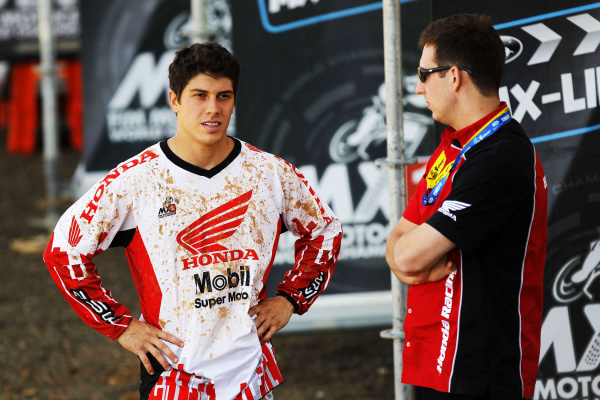 Swian Zanoni, piloto da Equipe Honda Mobil no Mundial de Motocross - Crédito: Foto: Divulgação Honda/VIPCOMM