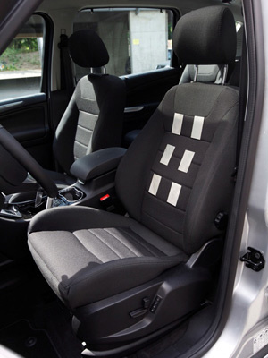 Banco desenvolvido pela Ford tem seis sensores  - Crédito: Foto: Divulgação
