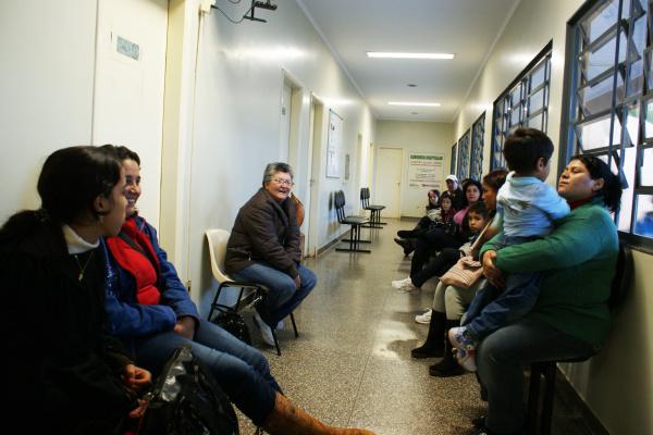 Pacientes do HU por enquanto não sentiram a greve  dos técnicos administrativos no HU - Crédito: Foto: Hédio Fazan/PROGRESSO
