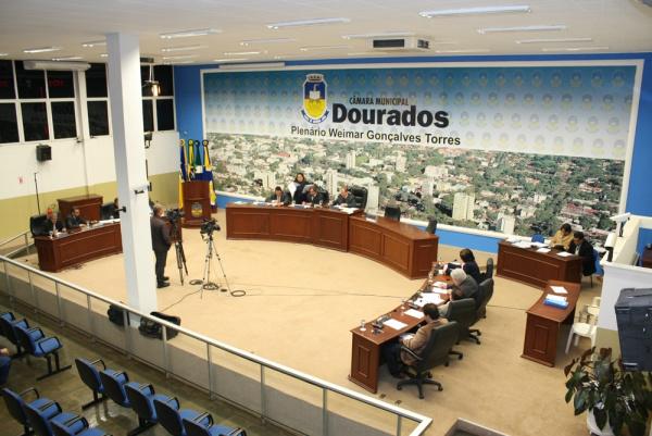 O primeiro semestre do ano foi de muito trabalho na Câmara de Dourado - Crédito: Foto : Divulgação