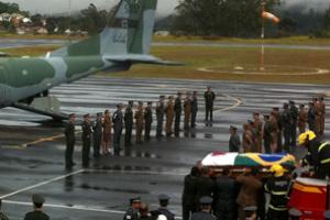 Corpo de Itamar Franco chega a Belo Horizonte para segundo velório -