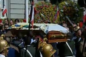Corpo de Itamar chega ao Palácio da Liberdade, em Belo Horizonte - Crédito: Foto: Reprodução