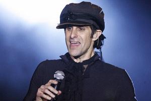 O cantor Perry Farrell, criador do Lollapalooza  - Crédito: Foto: AP