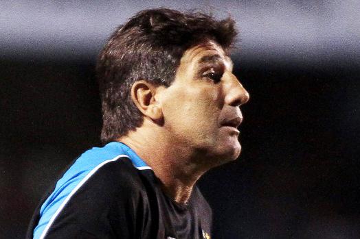 Renato: aproveitamento de 59,6% no Grêmio, seu último clube antes do Atlético-PR - Crédito: Foto: EFE
