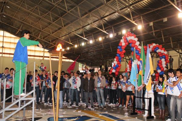 Alunos participam de competições esportivas até sexta-feira -