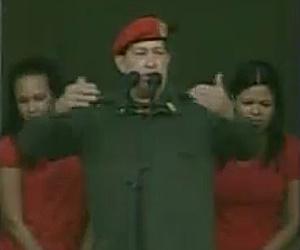 O presidente venezuelano durante o discurso, em Caracas - Crédito: Foto: Reprodução/Globo News