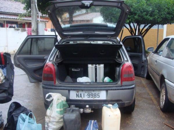Droga apreendida durante a operação comandada pelo Gaeco em Bataiporã - Crédito: Foto : Divulgação