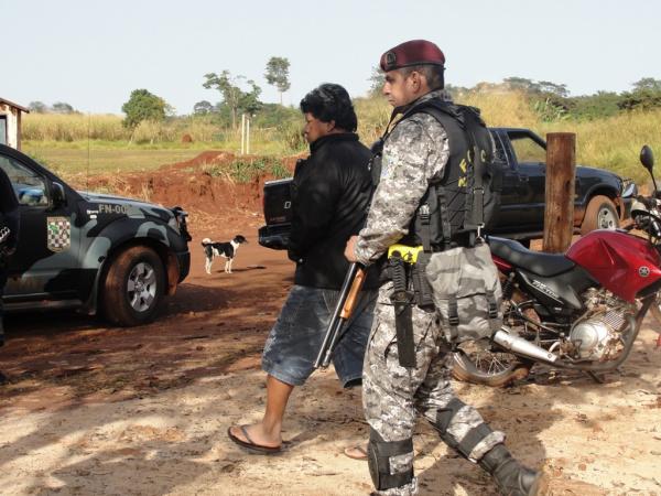Operação Tekohá, segue até o dia 6 de outubro nas aldeias indígenas de Dourado Foto: arquivo -