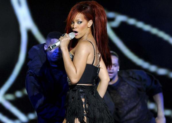 A cantora Rihanna, uma das atrações do Rock in Rio 2011. - Crédito: Foto: Divulgação