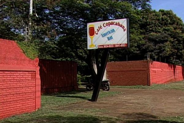Boate onde foi presa a suspeita de tráfico de pessoas para a prostituição - Crédito: Foto: Reprodução/TV Morena