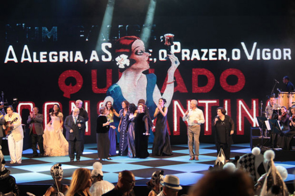 Artistas sobem ao palco na 22ª edição do Prêmio da Música Brasileira. Noel Rosa foi homenageado. - Crédito: Foto: Gil Ferreira