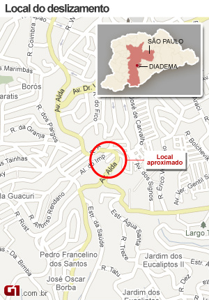 Deslizamento mata 1 e deixa soterrados em São Paulo -