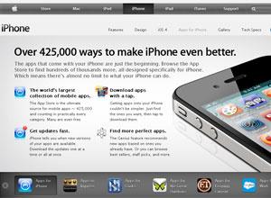 Loja de aplicativos da Apple oferece mais de 425 mil programas - Crédito: Foto: Reprodução