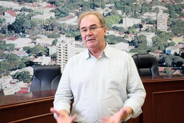 Presidente da Câmara Idenor Machado é favorável o aumento de 12 para 17 vereadores - Crédito: Foto: Éder Gonçalves